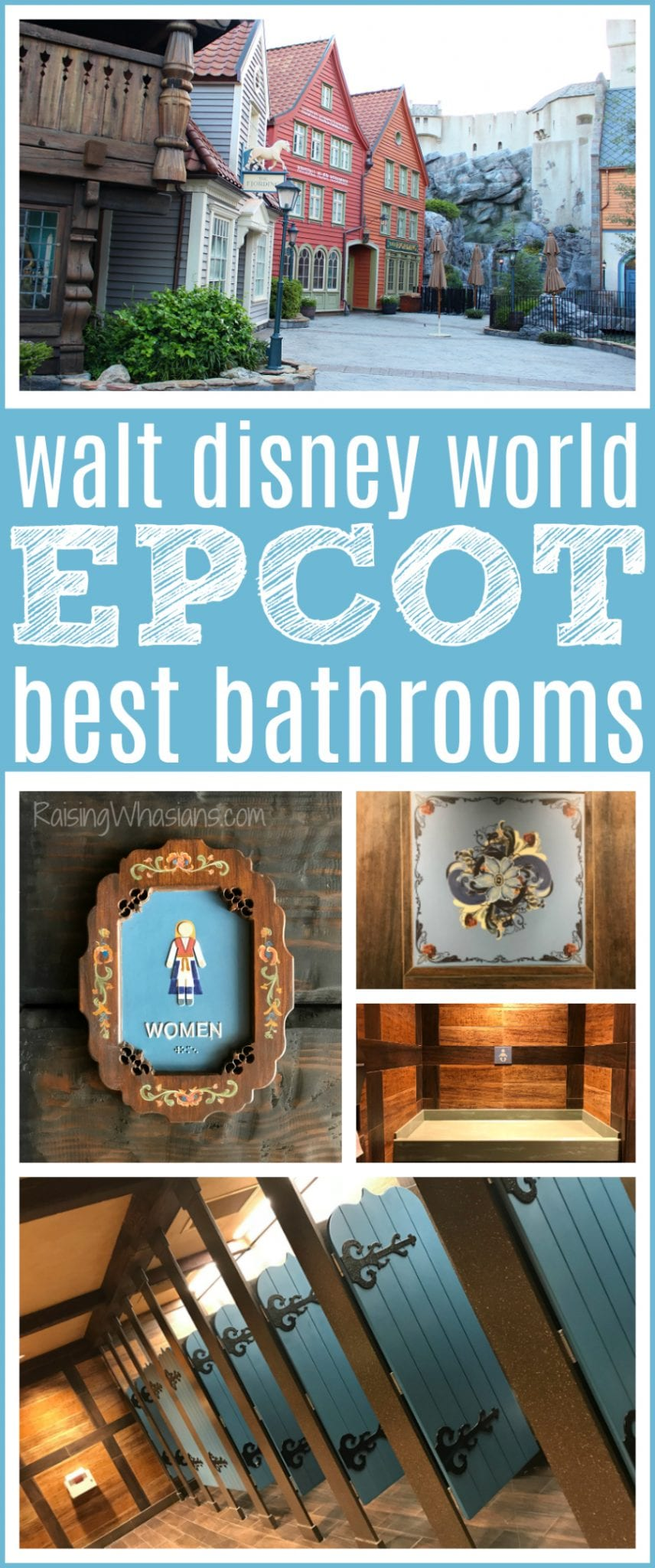 Walt Disney world best bathrooms