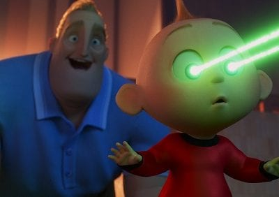 What are Jack-Jack's powers in Incredibles 2