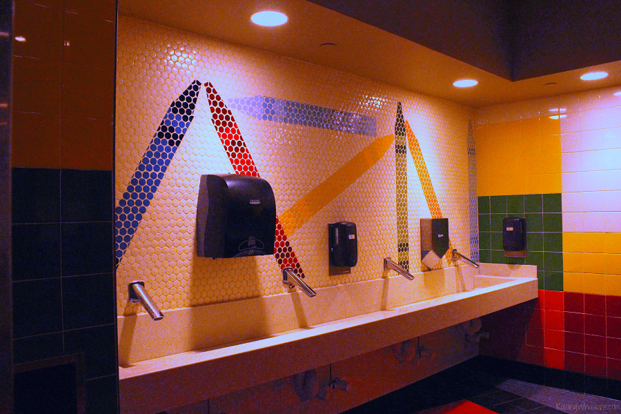 Best toy story land bathroom