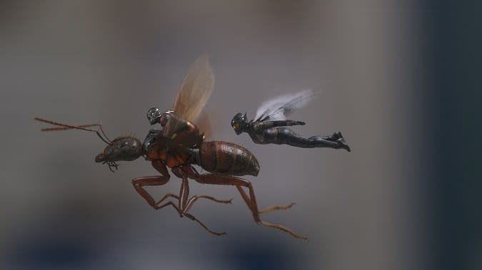 Is Ant-man and the wasp safe for kids