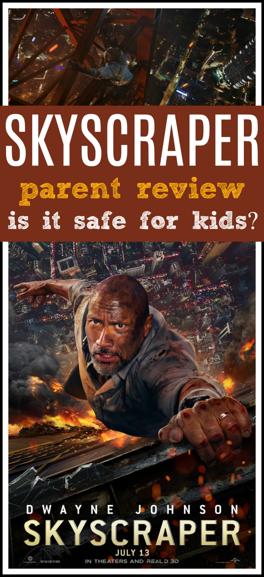 Skyscraper movie review for children