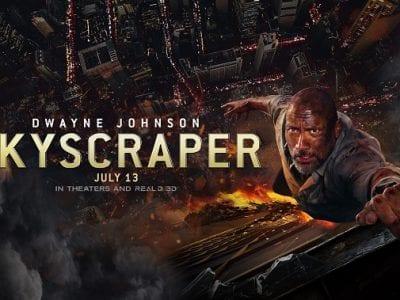 Skyscraper movie review safe for kids