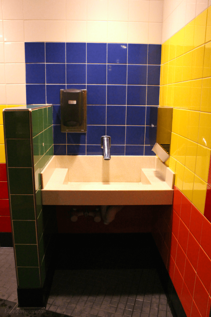 Toy story land bathrooms