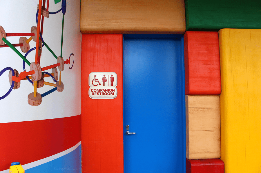 Toy story land companion restroom