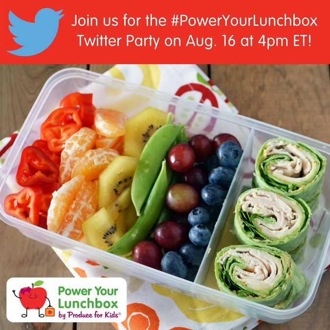 2018 #PowerYourLunchbox twitter party
