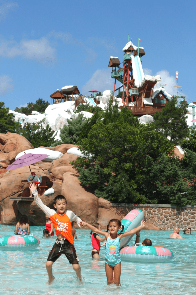 Blizzard beach tips kids