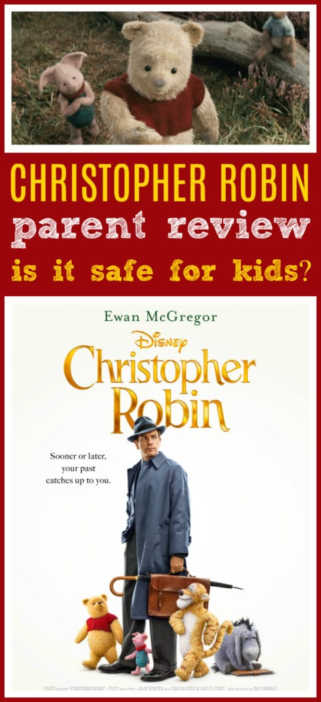 Christopher robin movie for kids