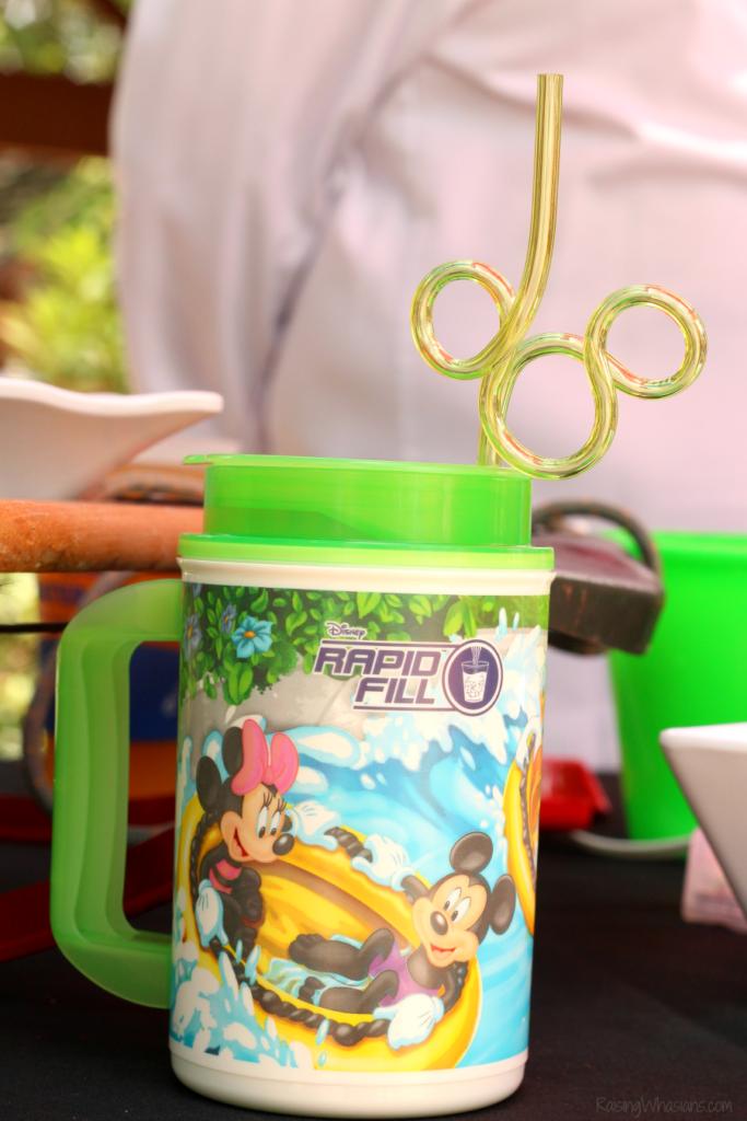 Disney rapid fill cup tips