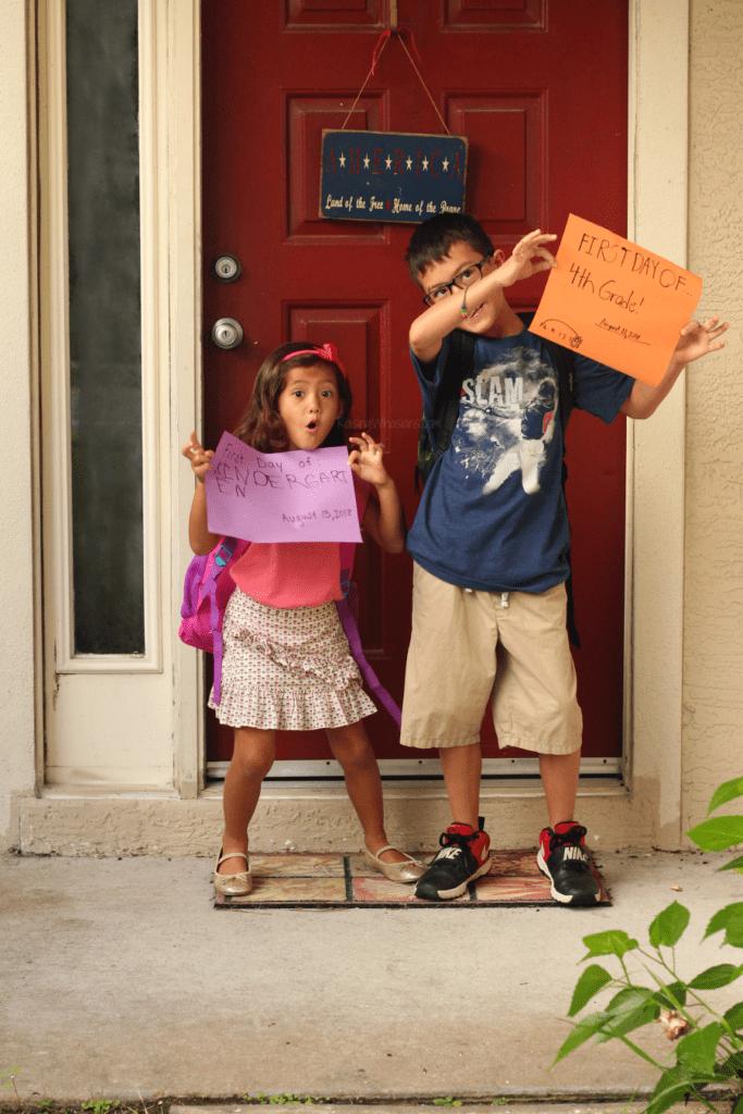 Kindergarten goodbye