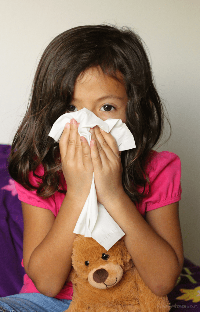 Child cold or allergies