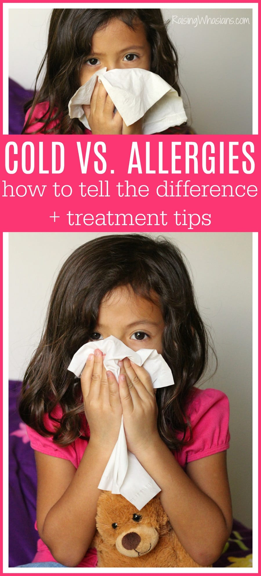 Cold allergy treatment for kids