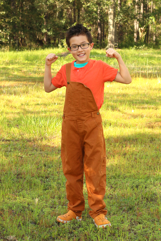 DIY wreck it ralph costume for kids