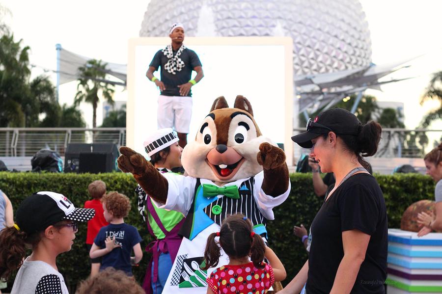 Disney du jour dance party