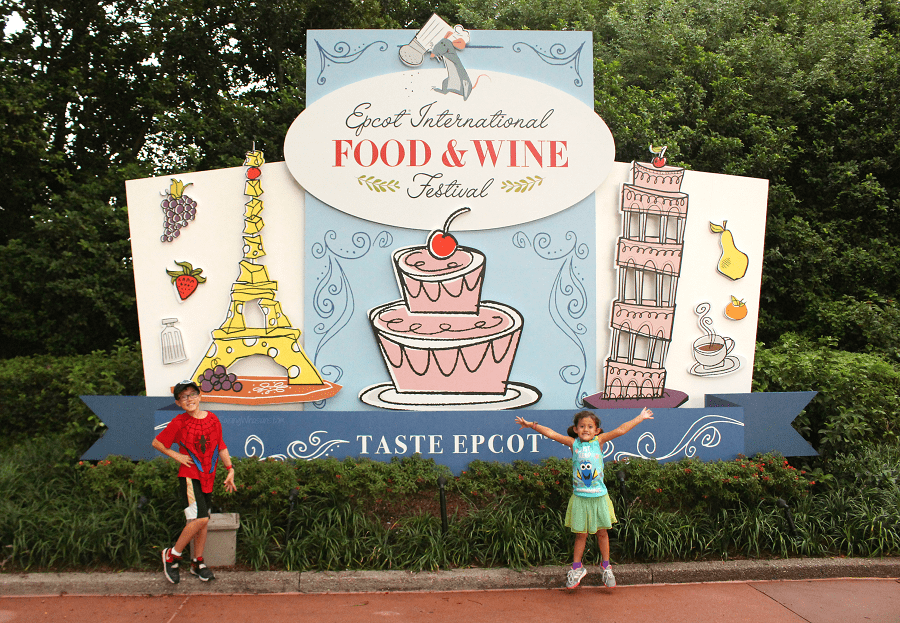 Epcot international food and wine festival tips for kids