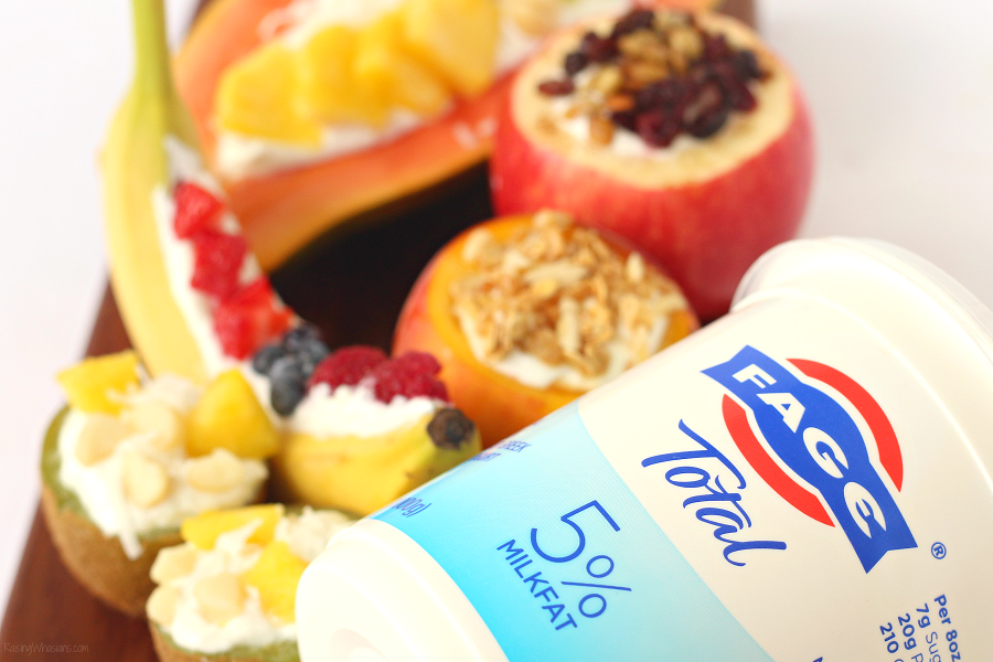 Fage total yogurt review 4 Unique Fruit Bowls for a Kid-Friendly Yogurt Bar | Make this easy & FUN after-school yogurt bar for kids, because these ideas taste better in a fruit bowl #Recipe #Breakfast #BreakfastRecipe #HealthyRecipe