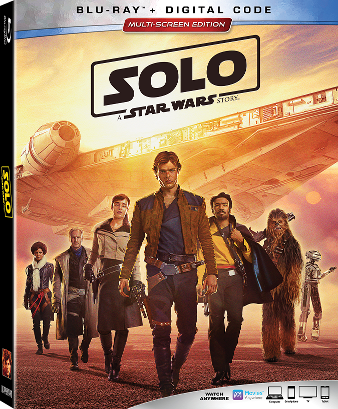 Solo a star wars story blu-ray bonus features