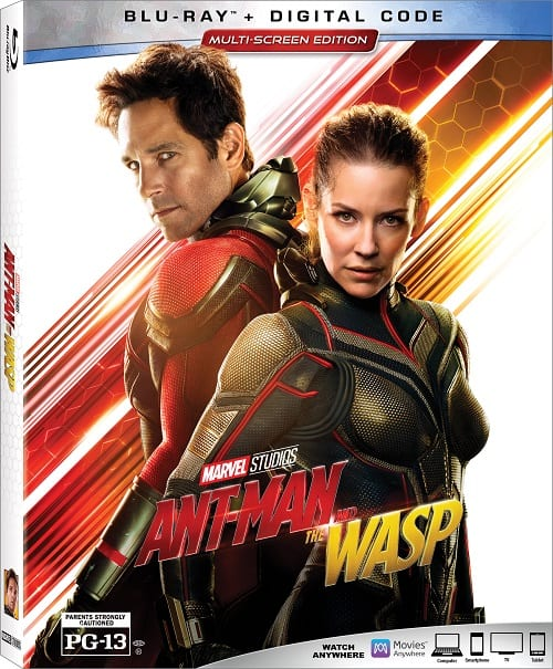 Ant-man and the wasp blu-ray release