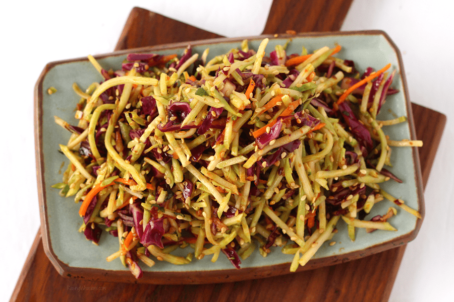 Best spicy Asian slaw