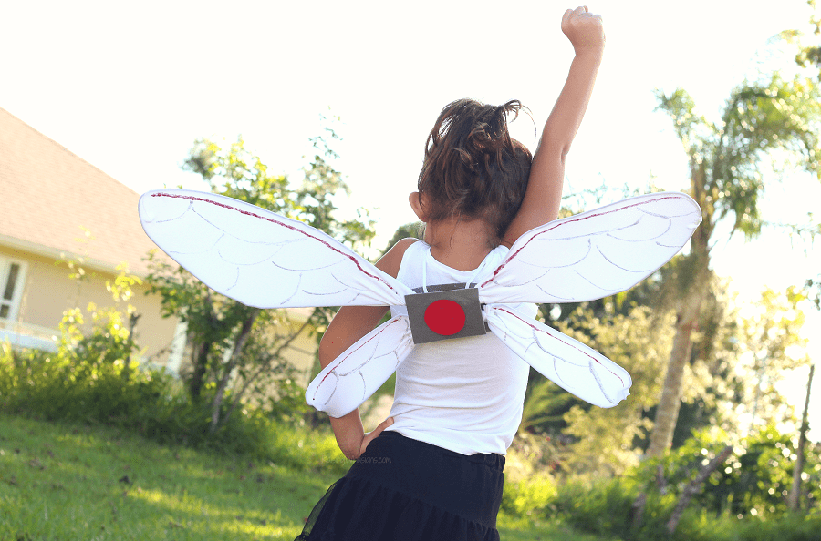DIY Ant-Man and the wasp wings