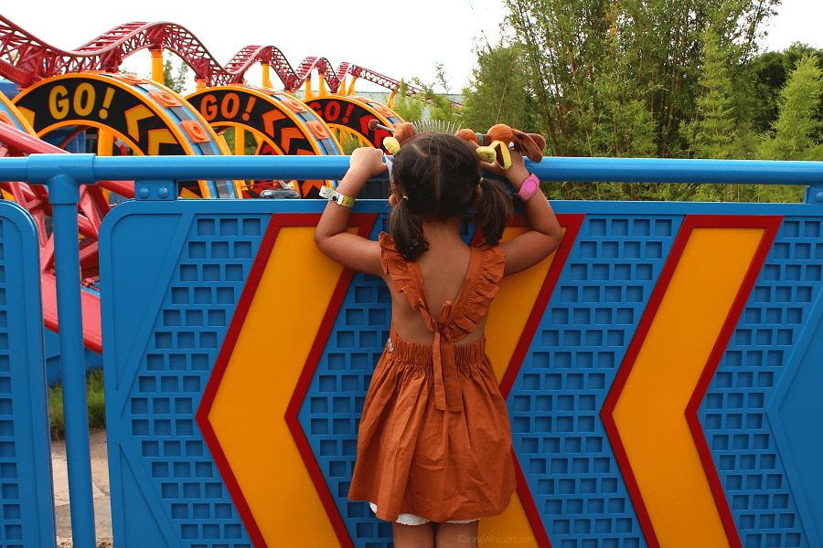 DIY slinky dog dress girls