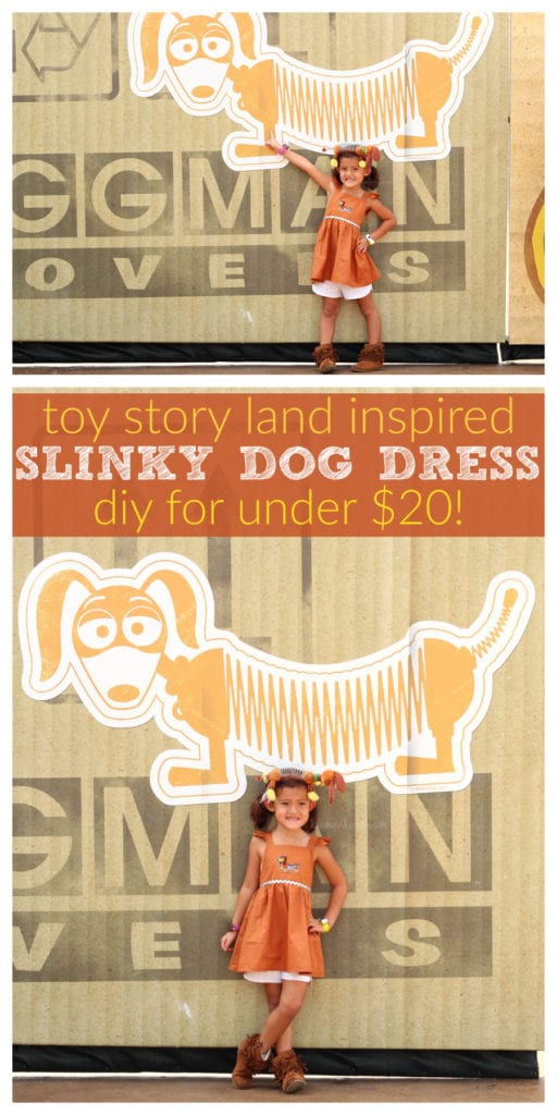 DIY toy story land dress