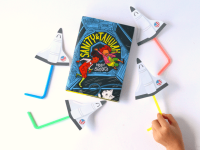 Easy straw rockets