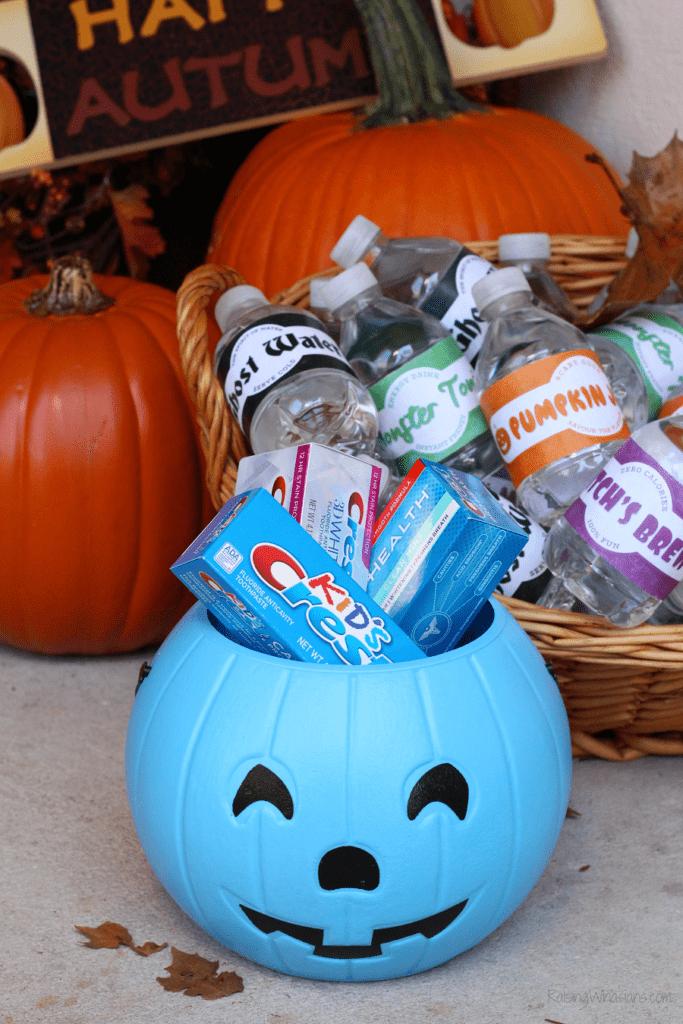 Halloween tooth brushing tips