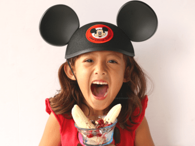 Healthy mickey snacks for kids