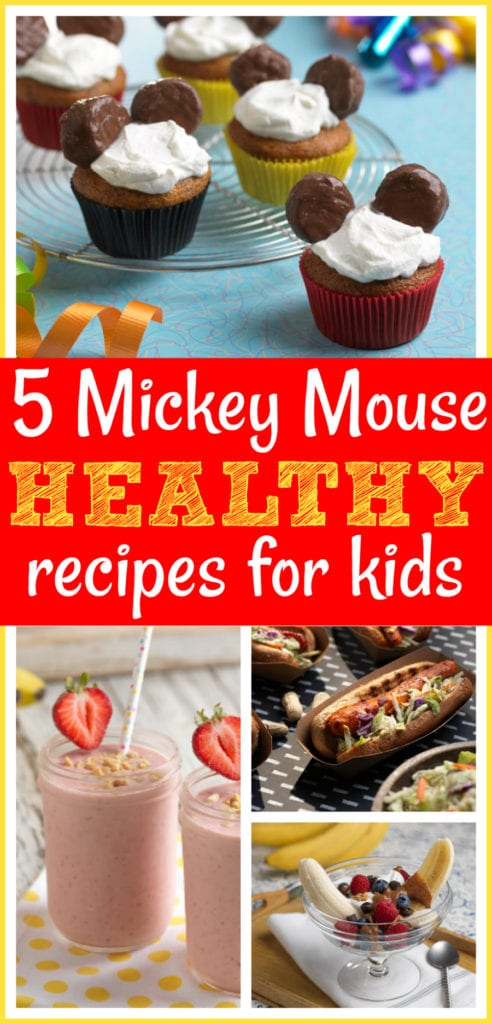 Mickey healthy recipes for kids