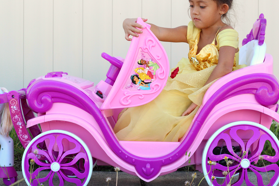 Princess carriage toy vehicle