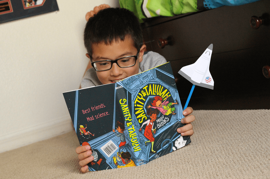 Sanity and Tallulah kid book review