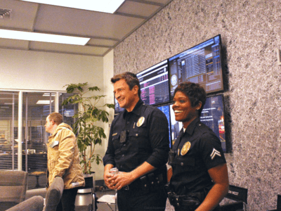 ABC the rookie set tour