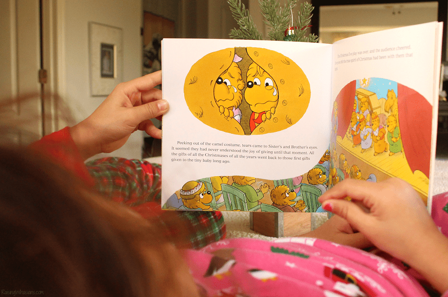 Berenstain bears and the joy of giving craft