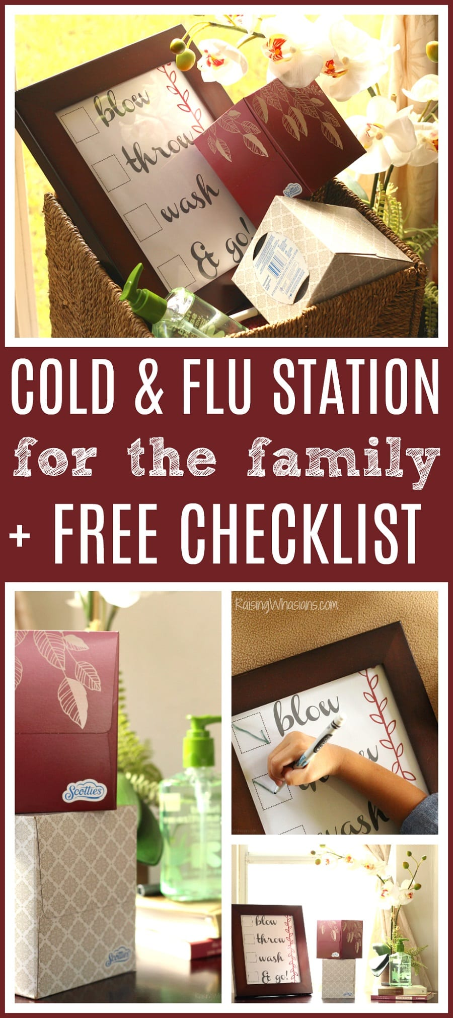 Free cold and flu checklist