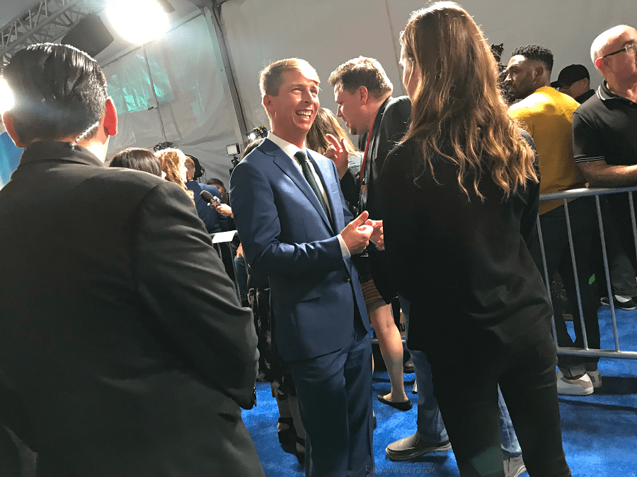 Jack McBrayer ralph breaks the internet premiere