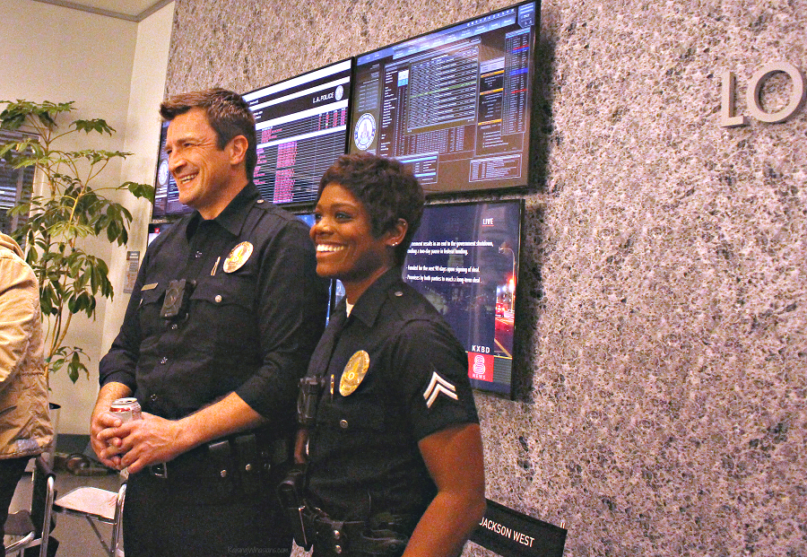 Nathan Fillion the rookie behind the scenes