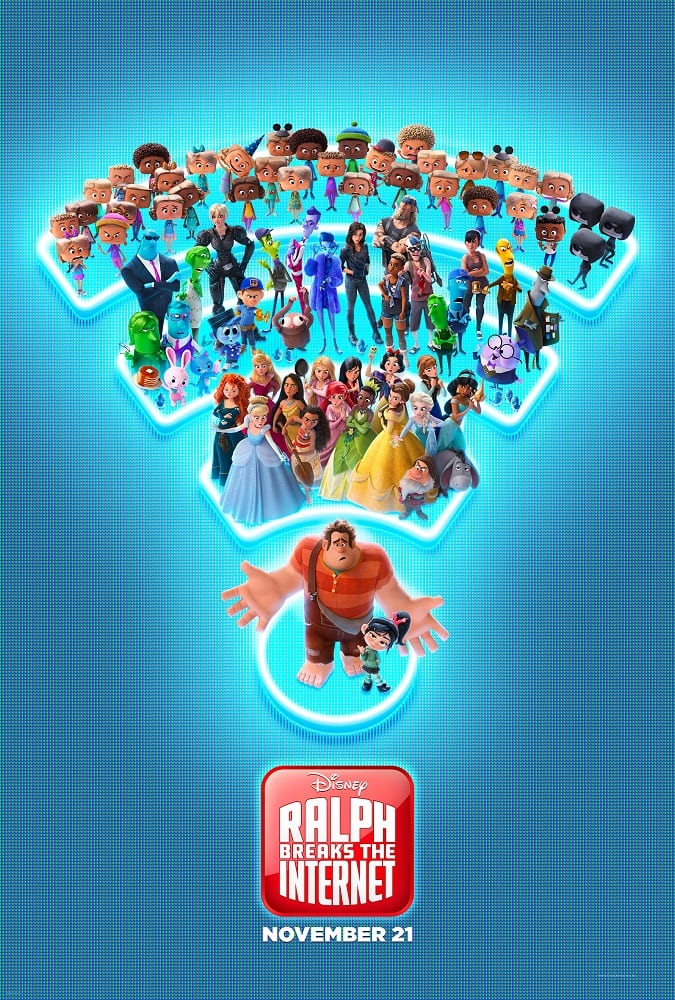 Ralph breaks the internet movie premiere