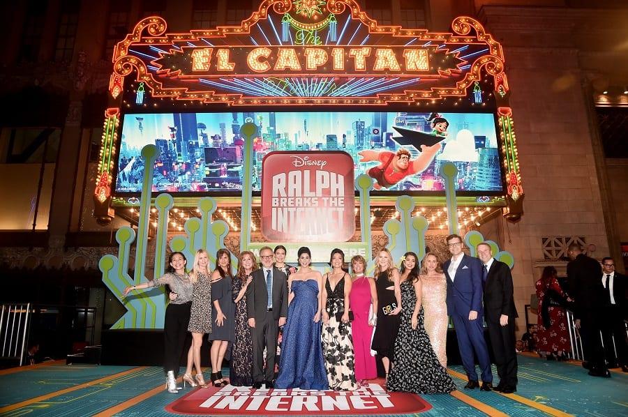Ralph breaks the internet world premiere photos