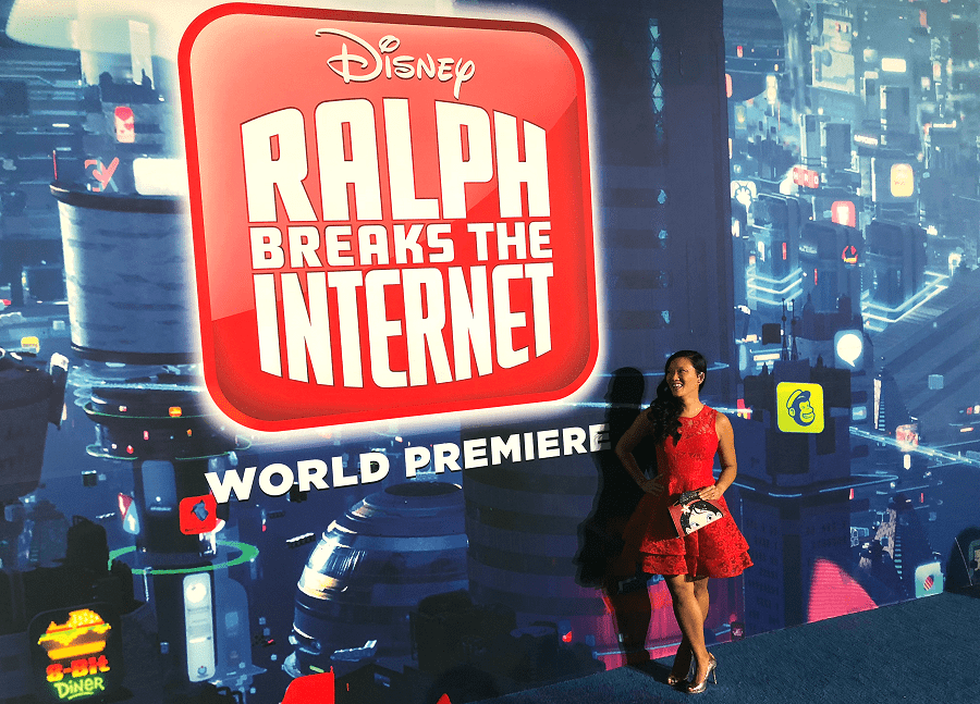 Ralph breaks the internet world premiere red carpet