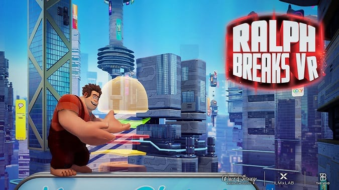 Ralph breaks VR locations