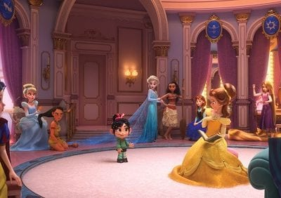 Why the Ralph breaks the internet Disney princess scene matters