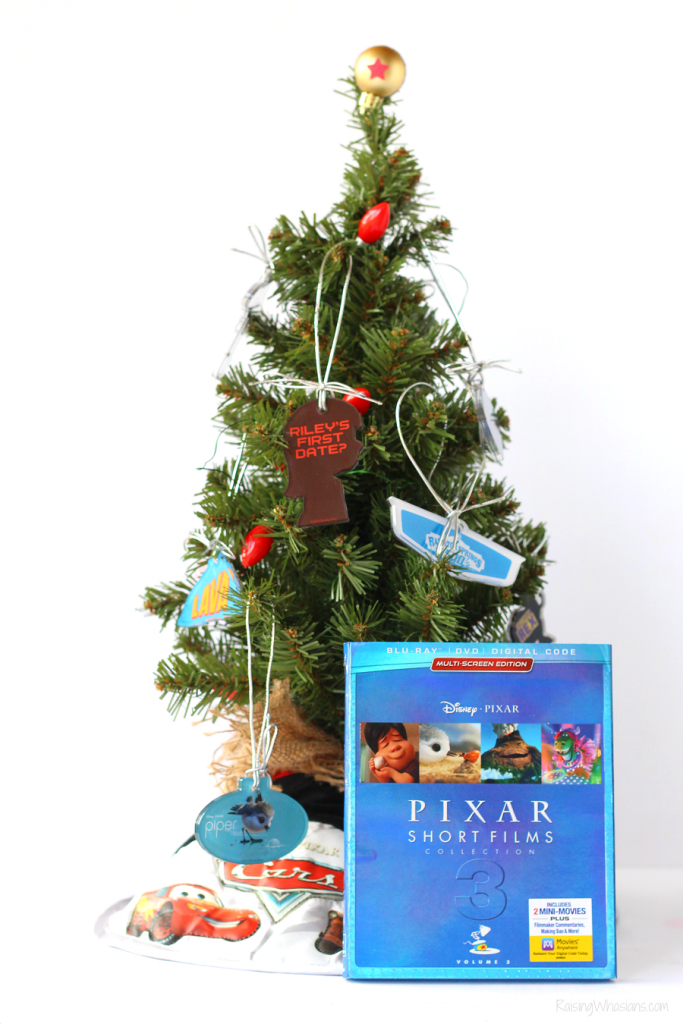 DIY Pixar Christmas tree