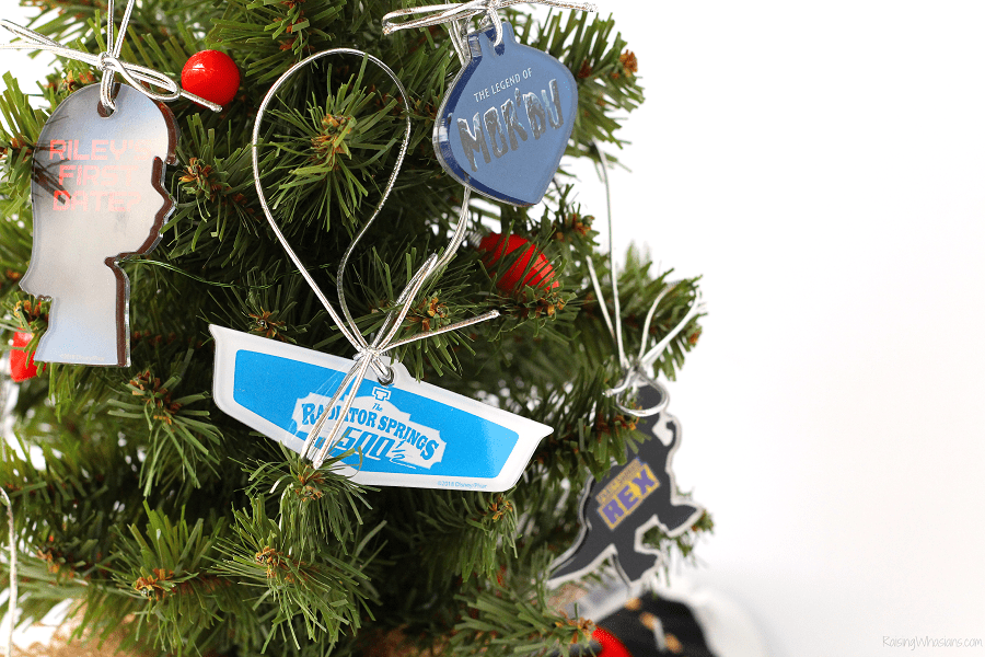 DIY Pixar ornaments