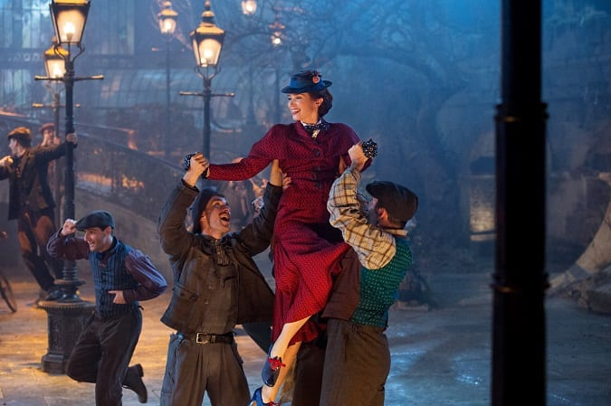 Mary Poppins returns movie review for kids