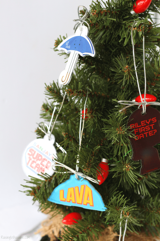 Pixar Christmas ornaments