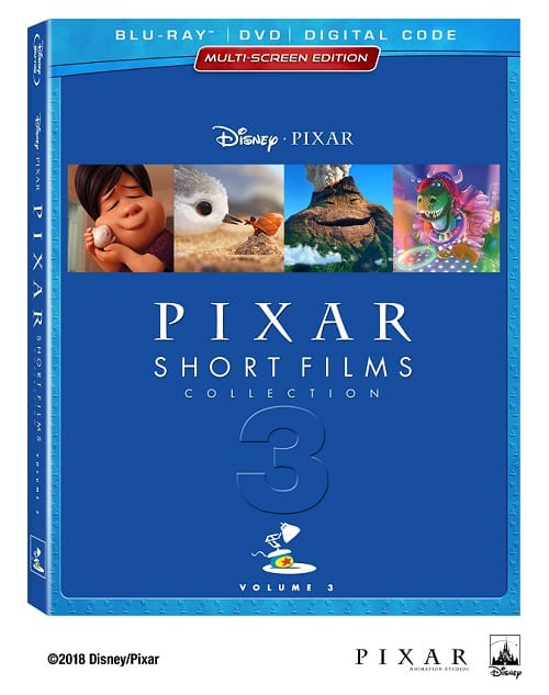 Pixar short films collection volume 3 bonus features