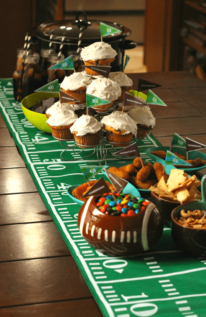 Easy super bowl party hacks