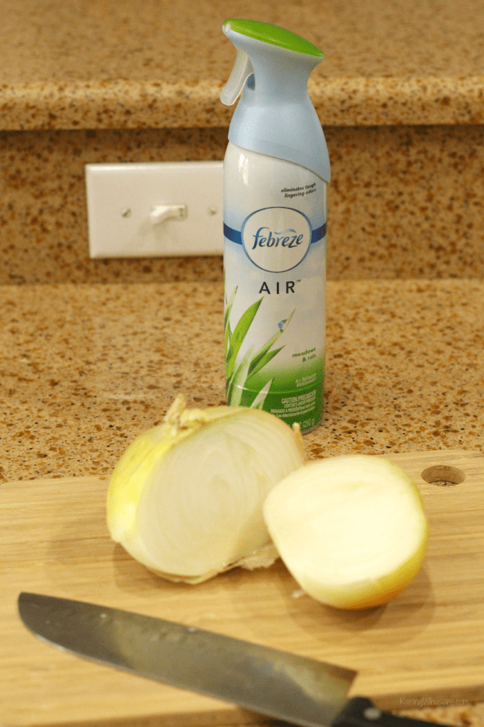Febreze kitchen hacks