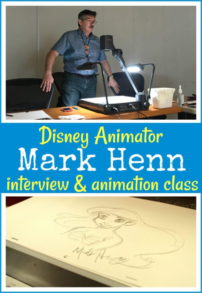 Animator Mark Henn interview