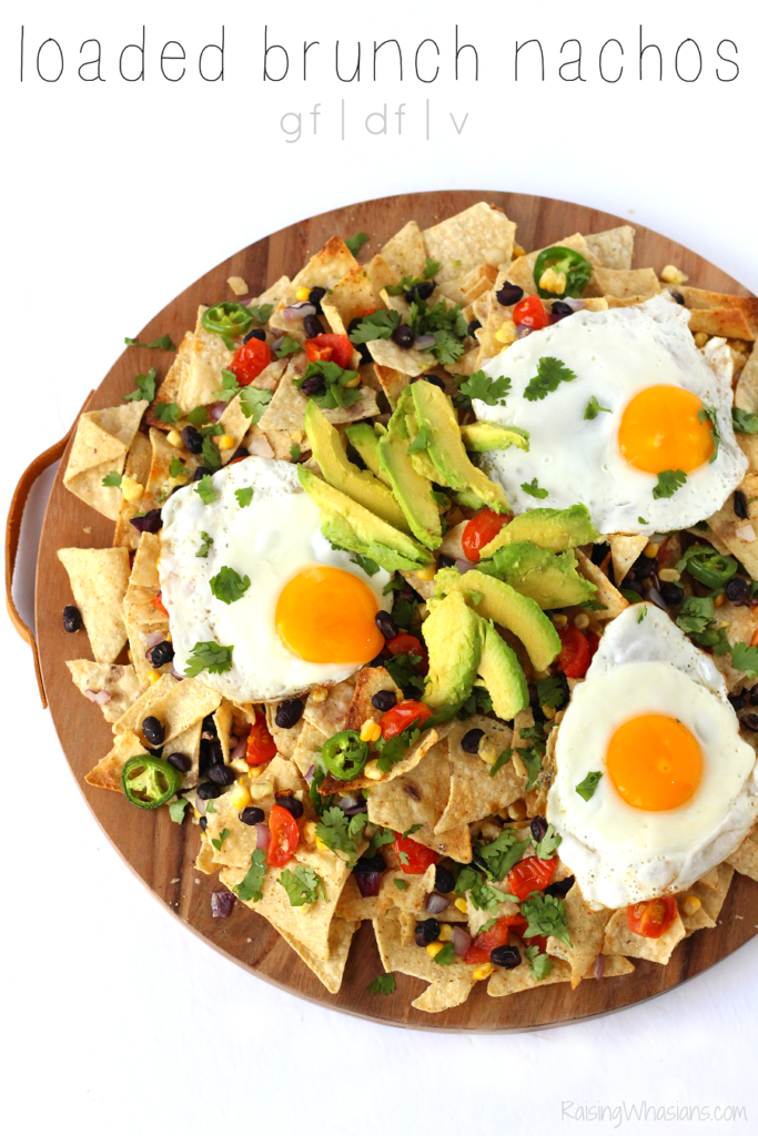 Brunch nachos recipe
